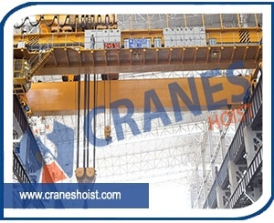 EOT Cranes for Steel Plants Manufacturer, Supplier and Exporter in Ahmedabad, Gujarat, India