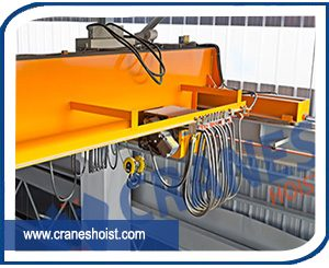 eot cranes for steel plant manufacturers